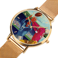 Load image into Gallery viewer, best gold football watches