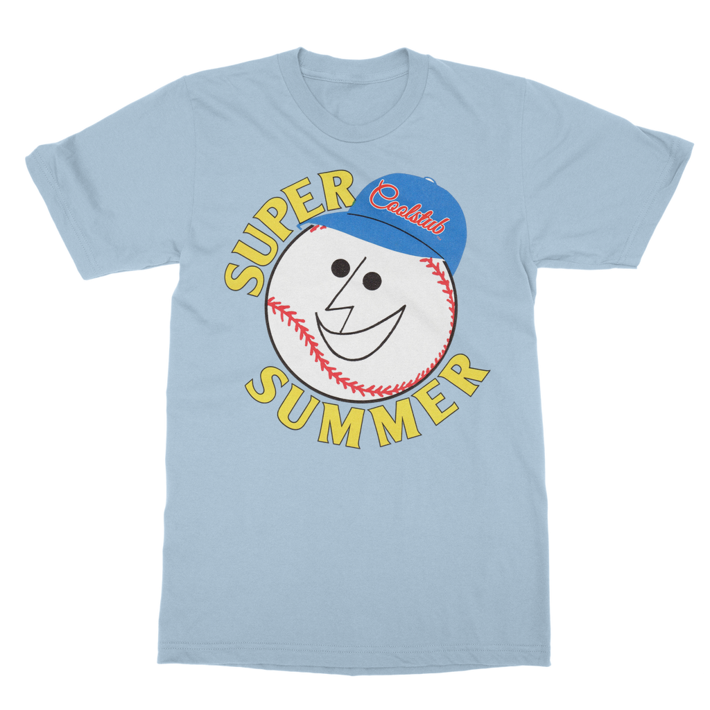 1977 Super Summer retro baseball tee | Coolstub™ sports apparel clothing