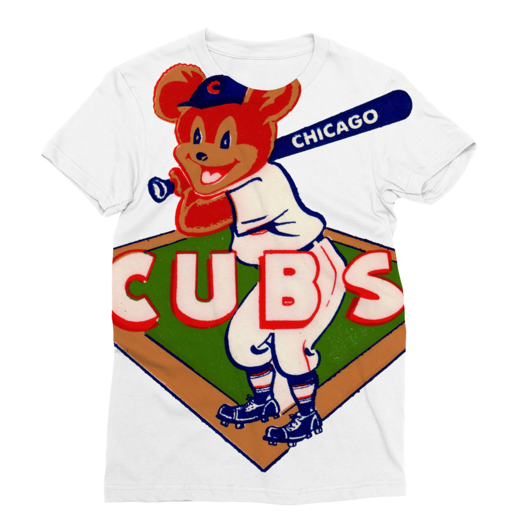 1950's Chicago Cubs  Classic Sublimation Women's T-Shirt