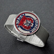 Load image into Gallery viewer, 1950's Arizona Wildcat Watch With Casual Stainless Steel Band