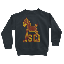 Load image into Gallery viewer, 1940's Vintage USC Trojan Classic Kids Sweatshirt