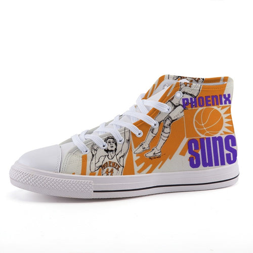 1970's Phoenix Suns High-Top Canvas Shoes