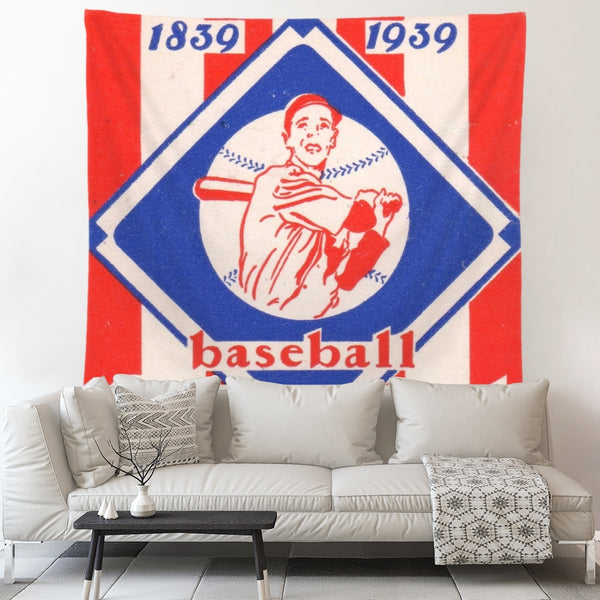 Baseball Centennial Art | Coolstub™ sports tapestries