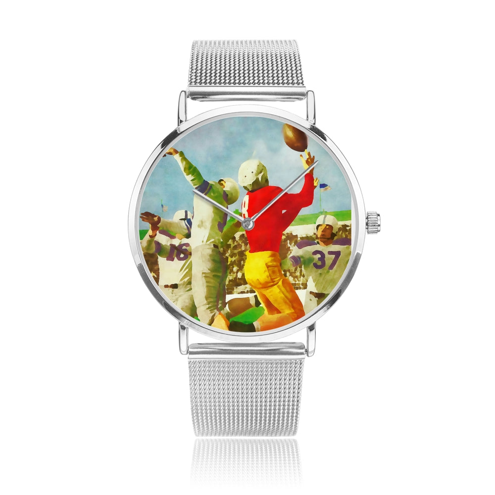 1947 Vintage Football Art Watch by Coolstub™