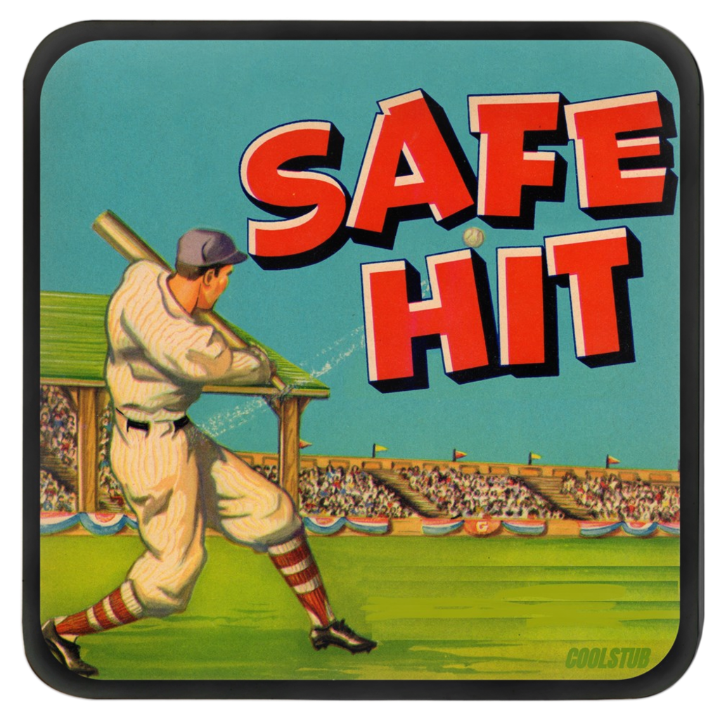 Safe Hit Coasters (1930's)