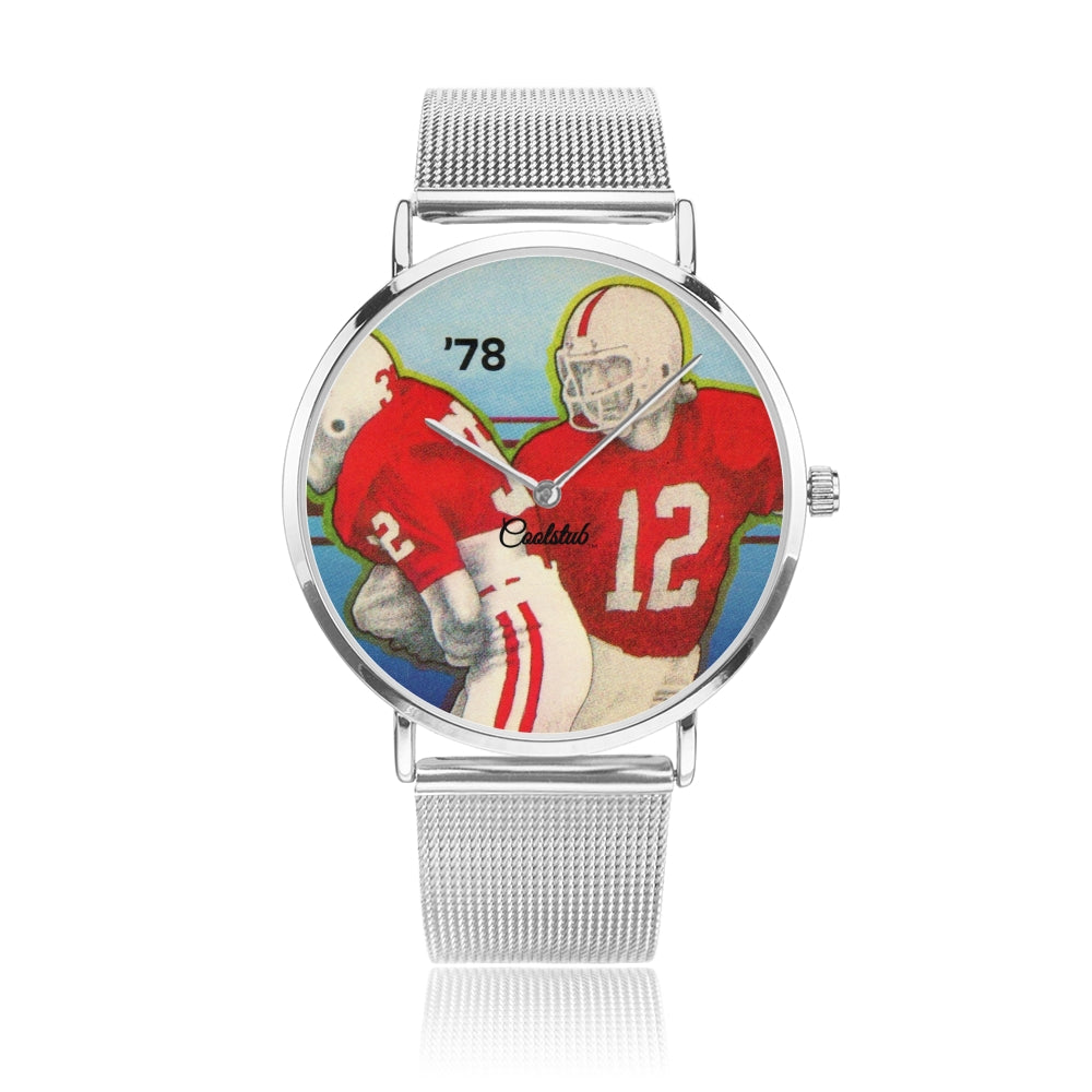 Coolstub™ 1978 Retro Football Art Watch