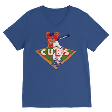 Load image into Gallery viewer, 1950's Chicago Cubs  Classic V-Neck T-Shirt