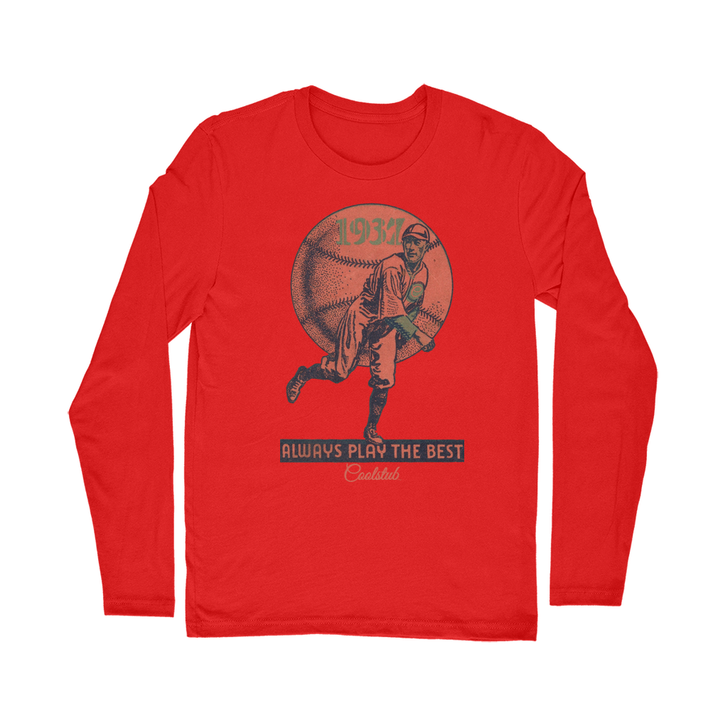 Coolstub™ 1937 Always Play The Best Vintage Classic Long Sleeve T-Shirt