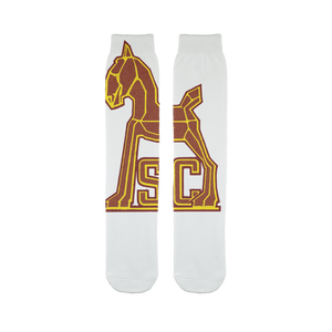 1940's Vintage USC Trojan Sublimation Tube Sock