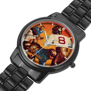 Vintage Sports Watch: 1934 Coolstub™ Football Art Watch