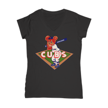 Load image into Gallery viewer, 1950's Chicago Cubs  Classic Women's V-Neck T-Shirt