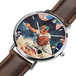 baseball catcher wristwatch