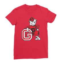 Load image into Gallery viewer, 1950's Vintage Georgia Bulldog  Premium Jersey Women's T-Shirt