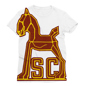 1940's Vintage USC Trojan Classic Sublimation Women's T-Shirt