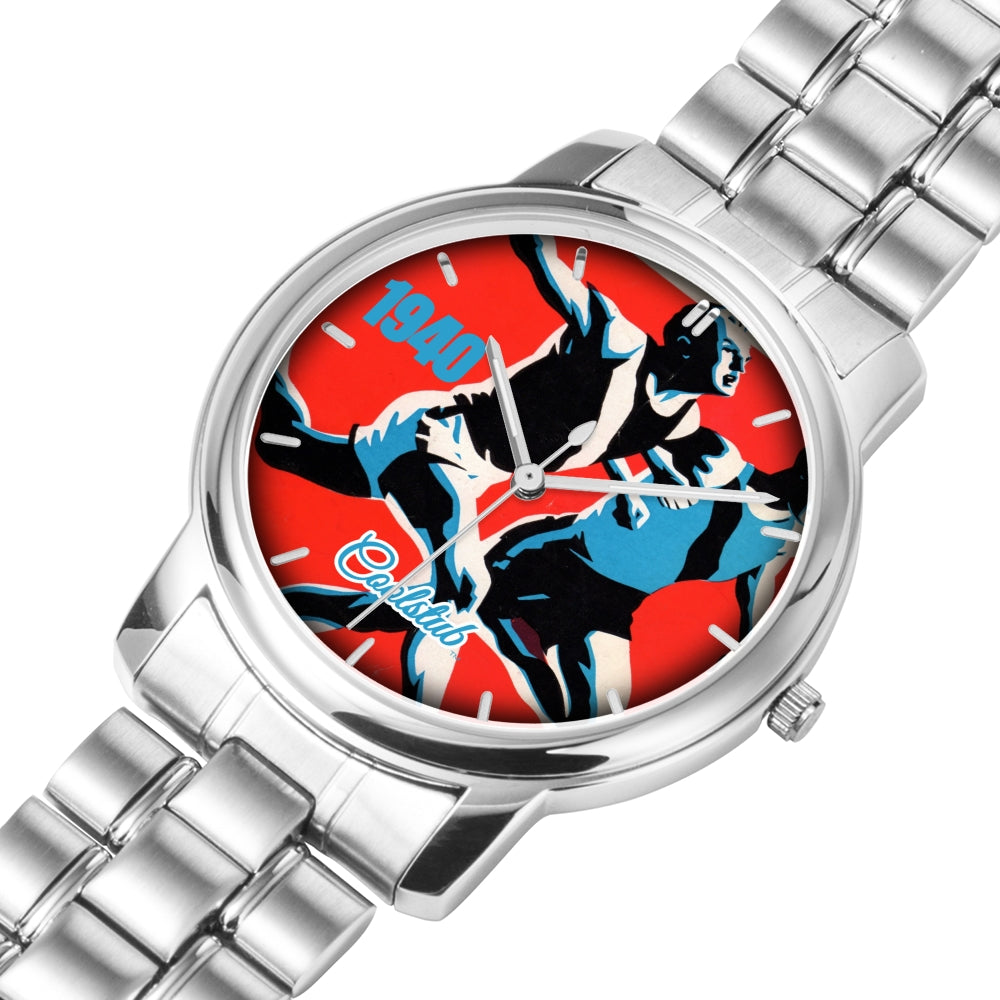 Gifts For Track Athletes: Coolstub™ 1940 Track Art Watch