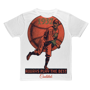 Coolstub™ 1937 Always Play The Best Vintage Classic Sublimation Adult T-Shirt