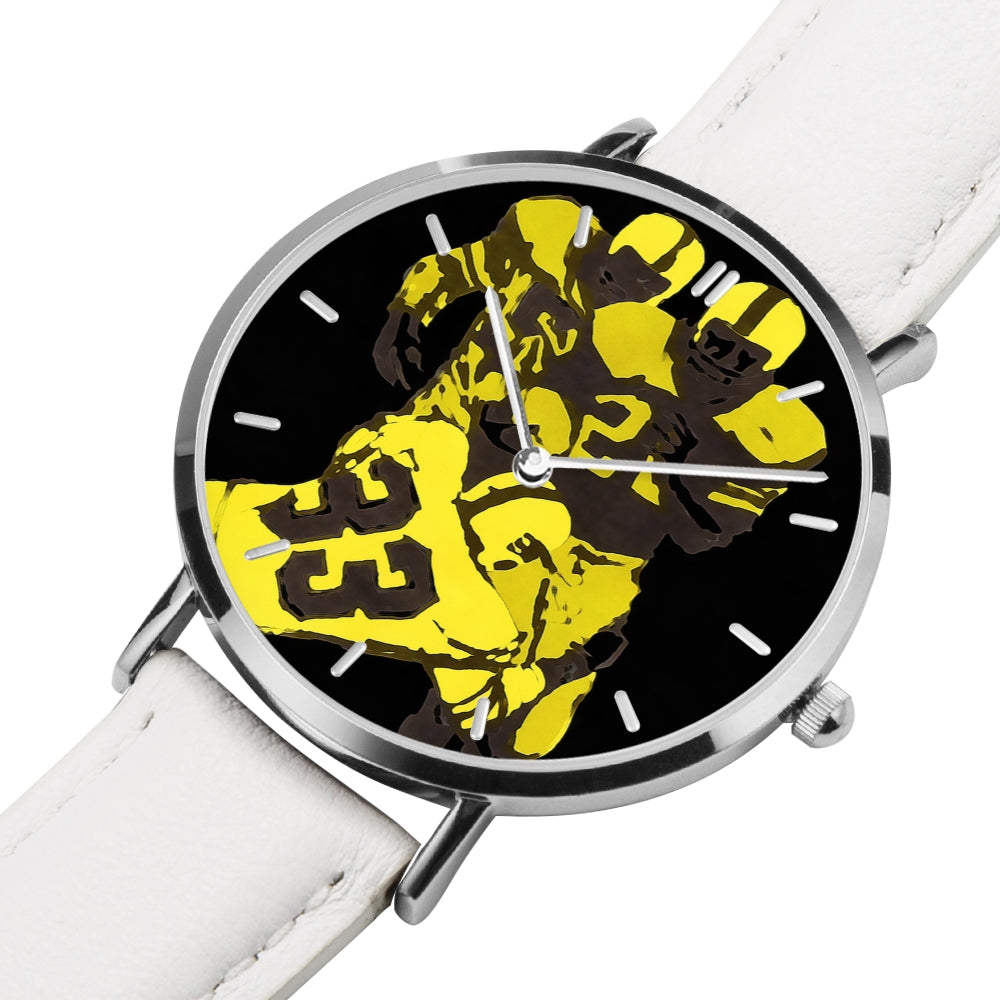 """Form Tackle"" 1978 Vintage Football Art Watch by Coolstub™"