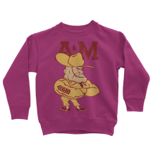 Load image into Gallery viewer, 1950's Texas A&M Ol' Sarge Classic Kids Sweatshirt