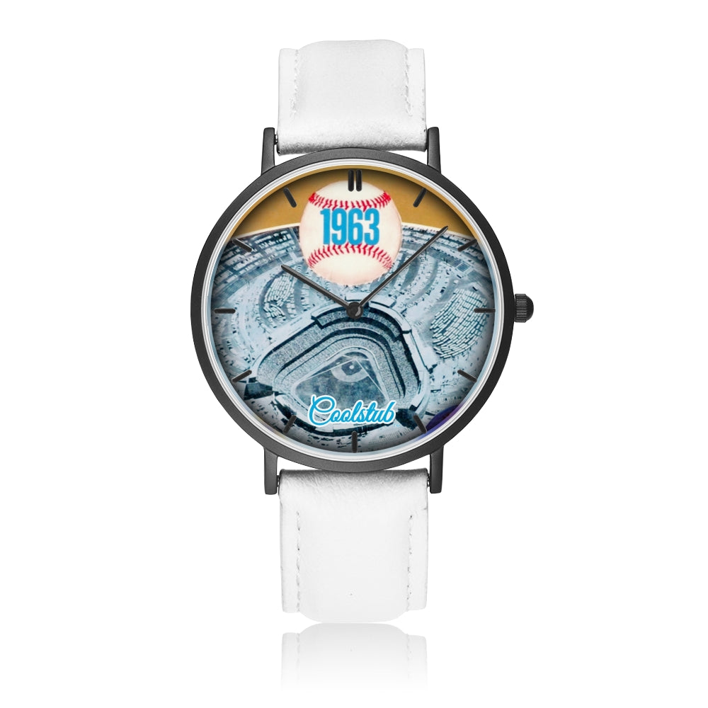 1963 Birth Year Gift Ideas: '63 Coolstub™ Baseball Program Watch