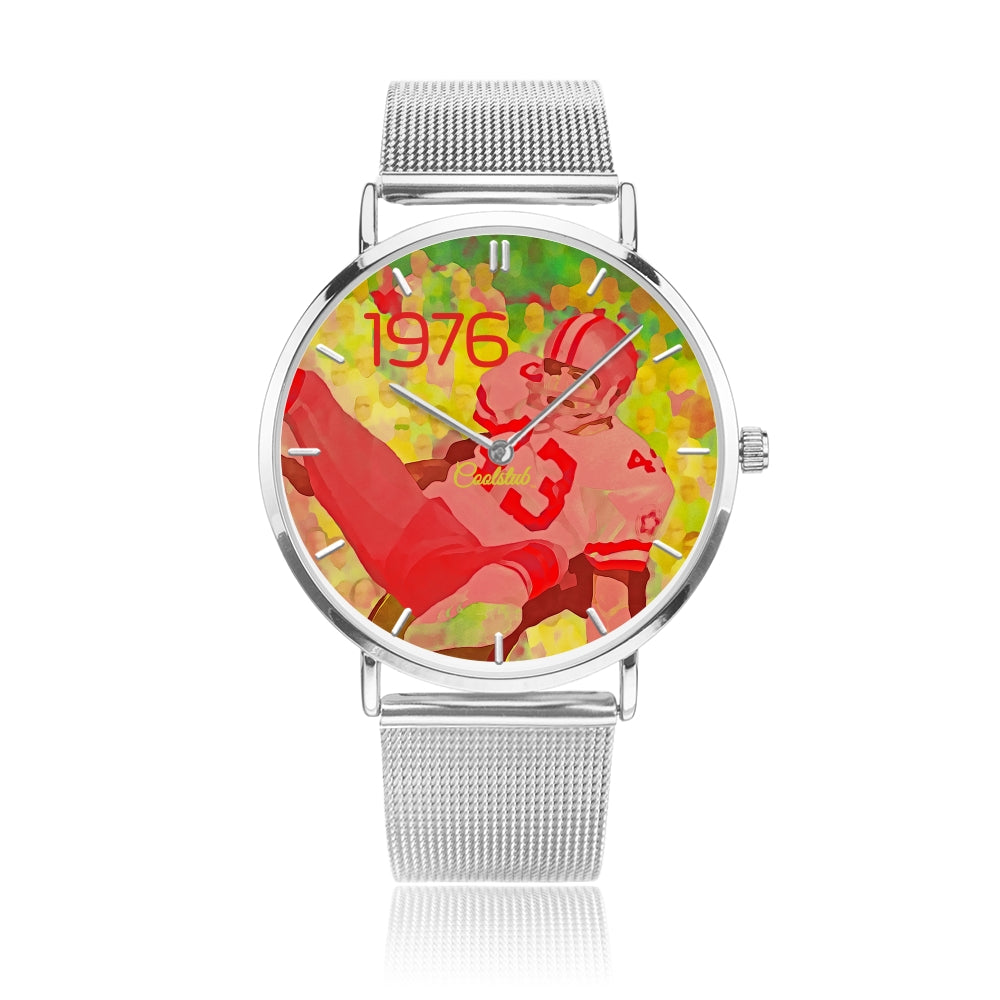Coolstub™ 1976 Retro Remix™ Football Watch