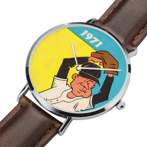 Coolstub™ 1971 Birth Year Gifts: Retro Baseball Pitcher Art Watch