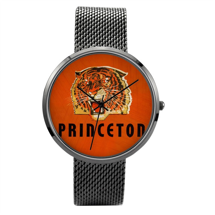 1939 Princeton Tigers Vintage Ticket Watch With Stainless Steel Band