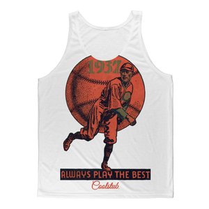 Coolstub™ 1937 Always Play The Best Vintage Classic Sublimation Adult Tank Top