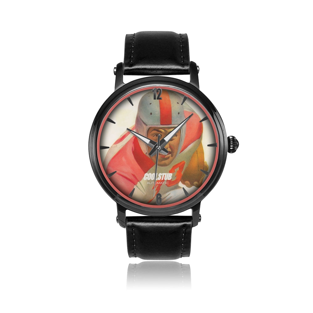 #33 All-American Watch (Black Leather)