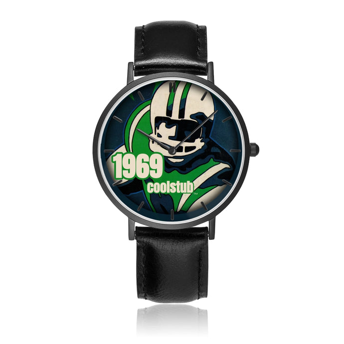 Best Father's Day Gift Ideas 2019: 1969 Football Art Watch by Coolstub™