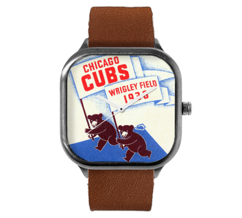 1938 Chicago Cubs Scorecard Watch