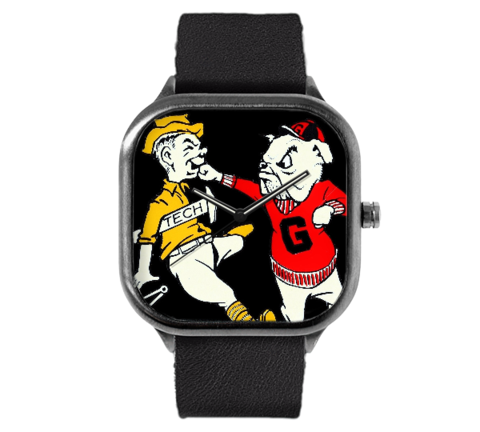 1950's Georgia Bulldog Knockout Watch