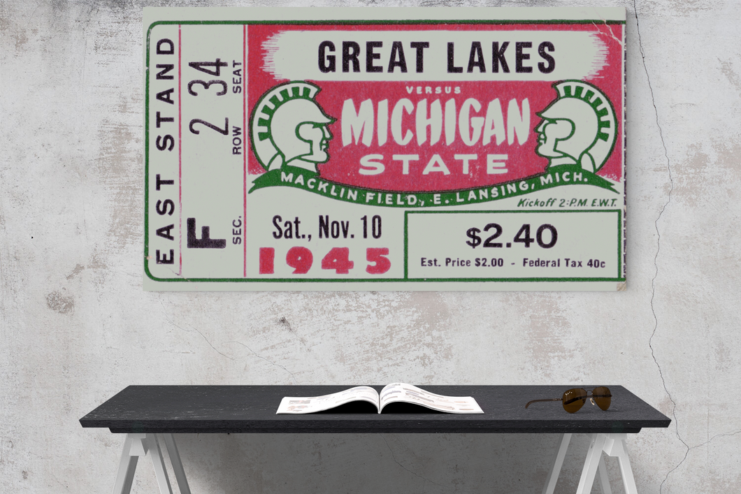 1945 Great Lakes vs. Michigan State