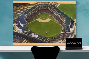 1940's Yankee Stadium Art