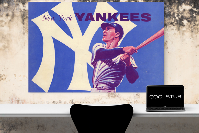 Vintage New York Yankees Canvas Art