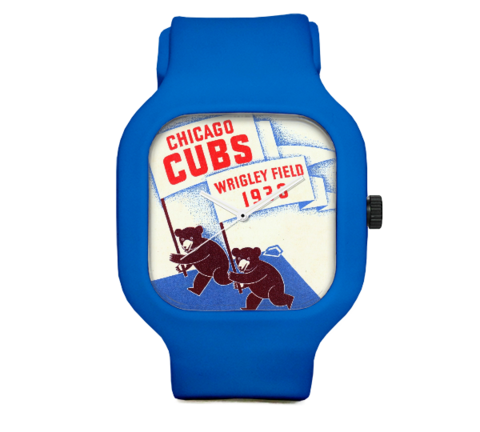 Vintage Cubs Scorecard Watch