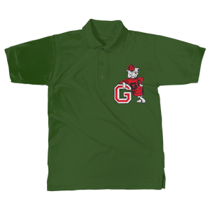 1950's Vintage Georgia Bulldog  Classic Women's Polo Shirt