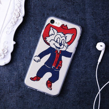 Load image into Gallery viewer, 1950's Arizona Wildcat Premium Flexible TPU Cover Case for iPhone 7 /iPhone 8