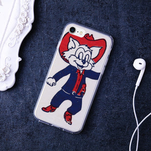 1950's Arizona Wildcat Premium Flexible TPU Cover Case for iPhone 7 /iPhone 8