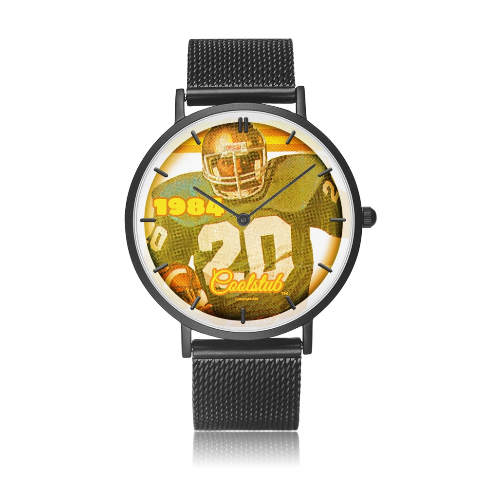 Father's Day Gift Ideas for Sports Fans: 1984 Retro Football Watch by Coolstub™