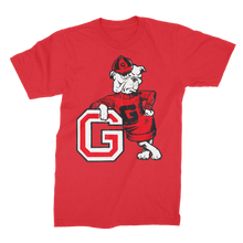 Load image into Gallery viewer, 1950's Vintage Georgia Bulldog  Premium Jersey Men's T-Shirt