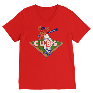 1950's Chicago Cubs  Classic V-Neck T-Shirt