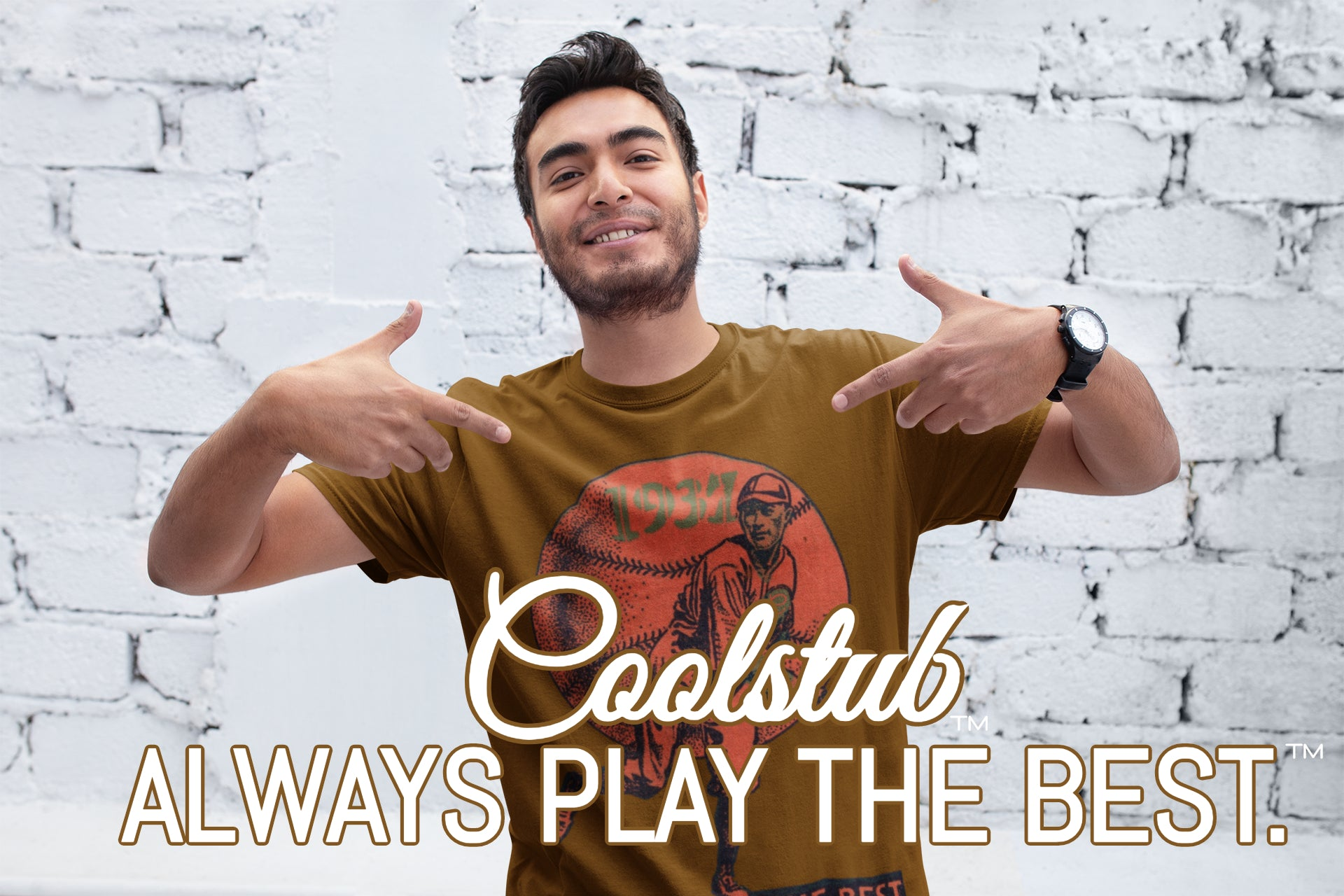 Coolstub™ 1937 Always Play The Best Vintage Classic Adult T-Shirt