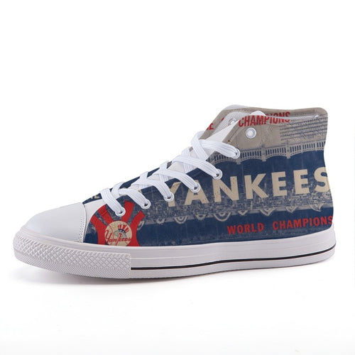 1963 New York Yankees High-Top Fashion Canvas Shoes