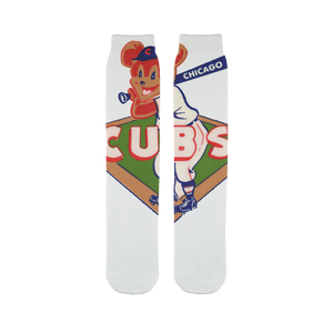 1950's Chicago Cubs  Sublimation Tube Sock