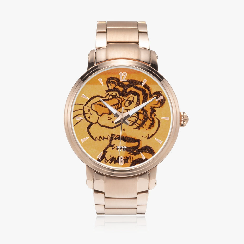 gold tiger watch
