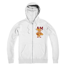 Load image into Gallery viewer, 1950's Texas A&M Ol' Sarge Premium Adult Zip Hoodie
