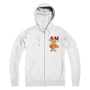 1950's Texas A&M Ol' Sarge Premium Adult Zip Hoodie