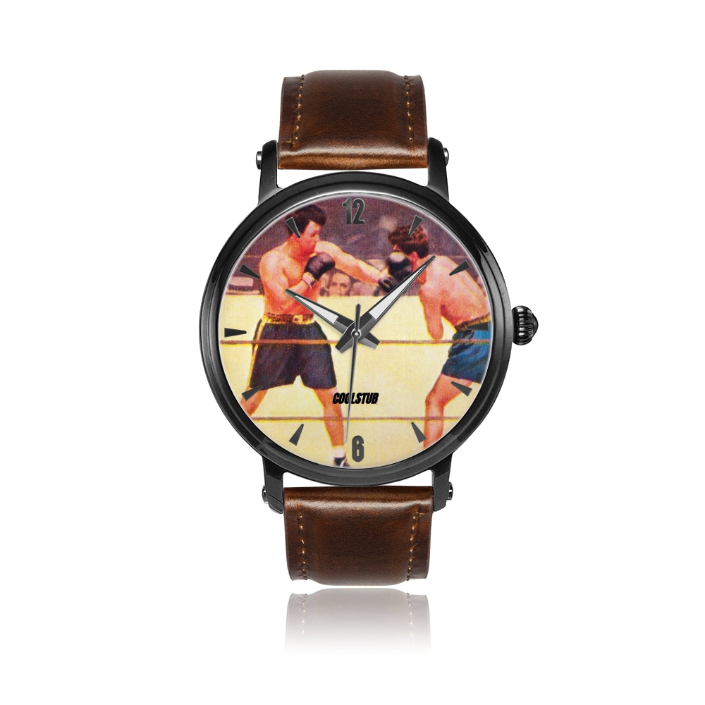 boxing watch, vintage boxing art watch