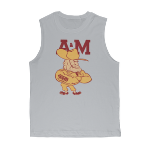 1950's Texas A&M Ol' Sarge Premium Adult Muscle Top