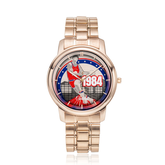 1984 Pop Culture Gift Ideas: Coolstub™ Basketball All-Star Ticket Watch